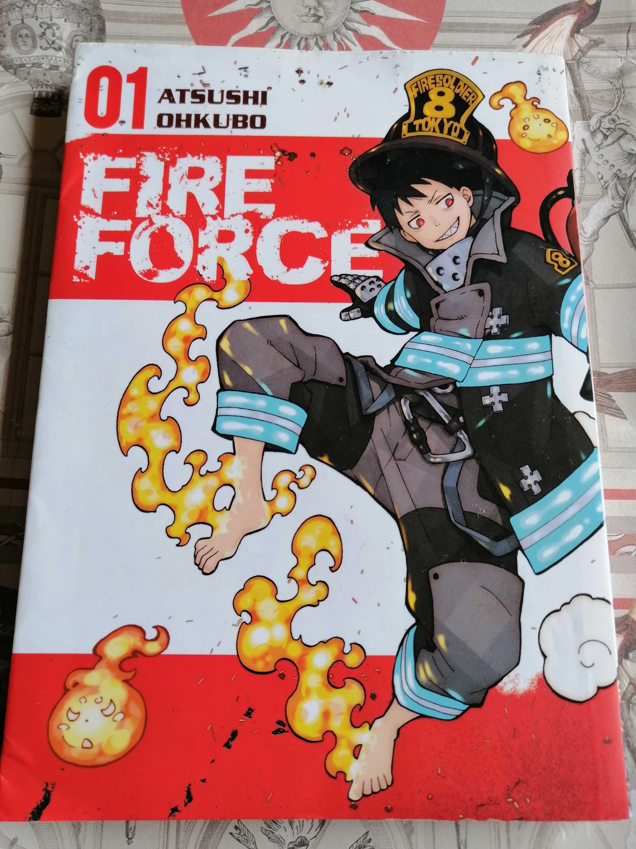 Fire Force Tom 1 Manga