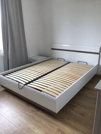 Komplet łóżko + 2 szafki nocne