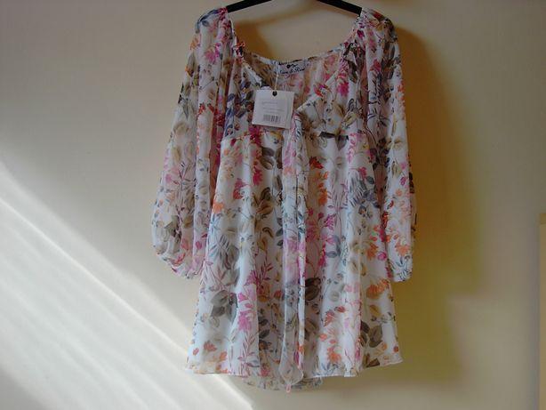LOVE&ROSE, love and rose, love & rose, sukienka, pastelowe wzory, XS