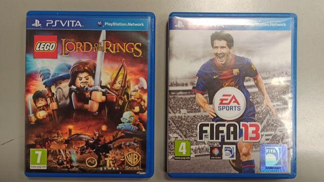 Lord of the rings Ps vita e Fifa 13 (posso trocar )