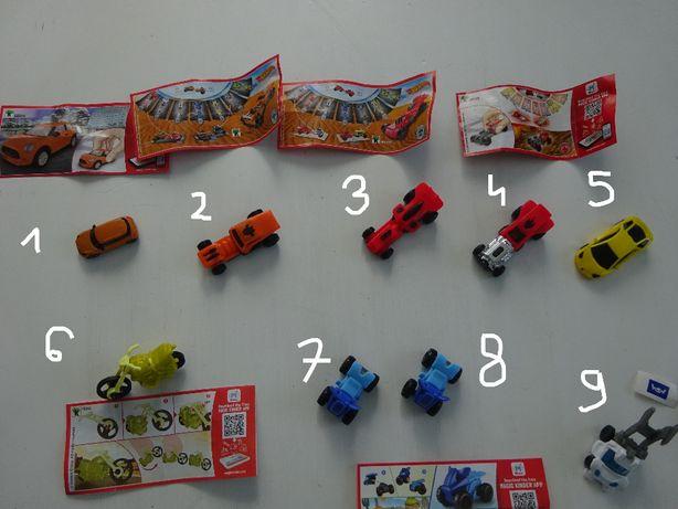 Jajka Kinder niespodzianka zabawki autka hot wheels samochodzik 14 szt