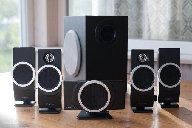 Акустическая система Creative speaker inspire T6100 5.1