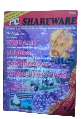 Czasopismo PC SHAREWARE nr 6/96 (13)