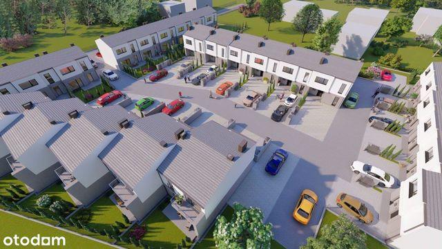 Nowe domy szeregowe na kameralnym osiedlu