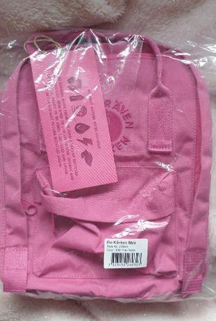 Plecak RE-KANKEN MINI różowy,pink 100% recyklingu