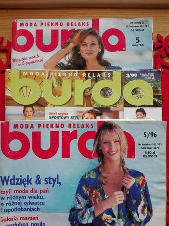 Gazeta Burda wykroje moda 94/5 96/5 99/3