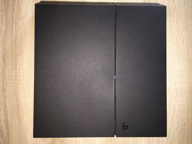 używana konsola ps4 jet black 1 tb + 16 gier - bez kontrolera