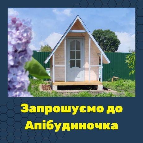 Апітерапія, релакс на бджолах, Апібудиночок