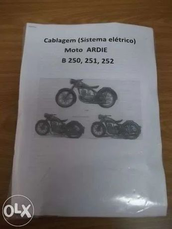 Cablagem Motos Ardie B250, B251, B252