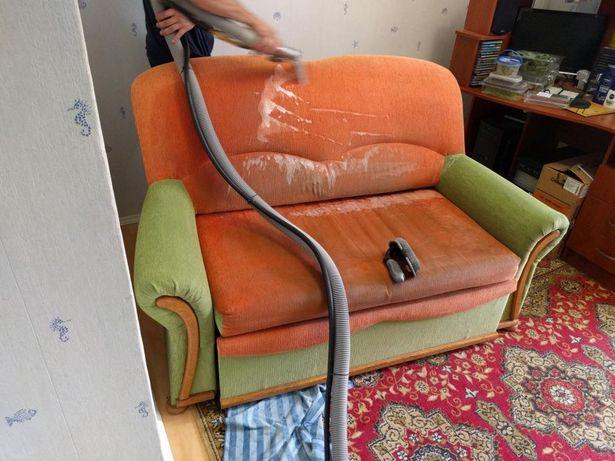 Чистка,химчистка мягкой мебели(диванов,кресла),ковров,матраса,дивана