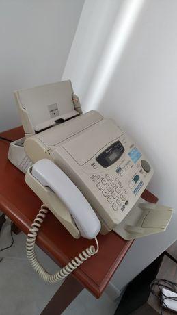 Fax/telefone Panasonic novo