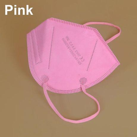 Vendo mascaras ffp2 kn95 cor de rosa