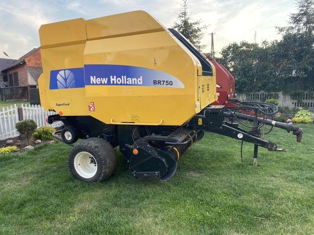 Prasa New Holland Br 750 Superfeed Siatka sznurek rotor