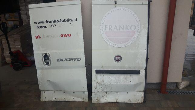 drzwi tylne fiat ducato od rocznika 06