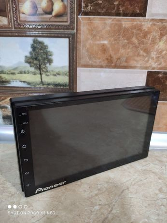 АТОМАГНИТОЛА 2din экран 7'' 2/16GB 4ядра Pioneer Pi6601 Камера Подарок