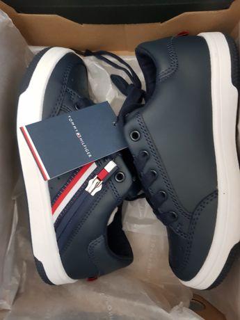 Tommy Hilifiger 30 sneakersy granatowe nowe buty