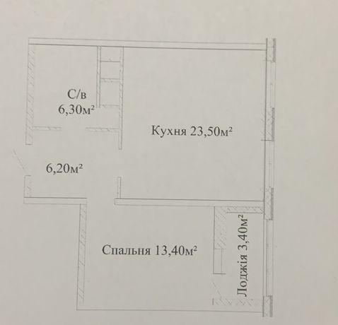 1 комнатная квартира Альтаир 3 в сданном доме на Жаботинского 54а