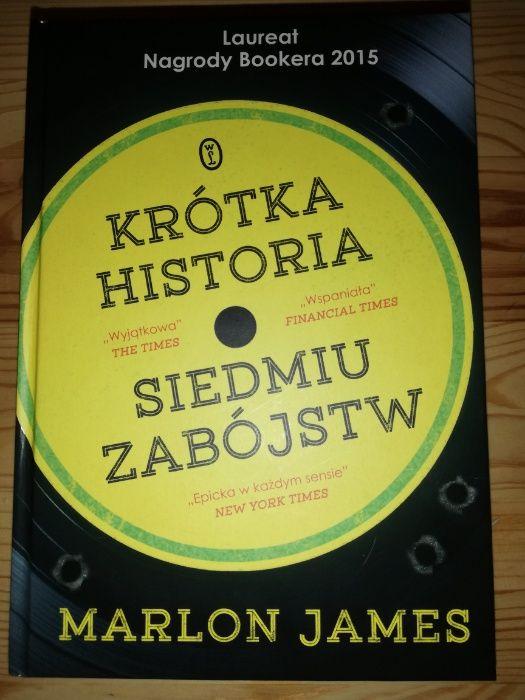 Marlon James, Krótka historia siedmiu zabójstw, NOWA Kraków - image 1