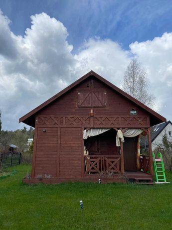 Działka ROD z nowym drewnianym domkiem (na gwarancji) w Otwocku