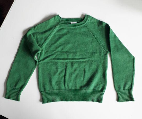 Zielony sweterek rozm. 98