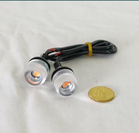 Piscas moto LED 12V / 1W - NOVO, Nunca usado