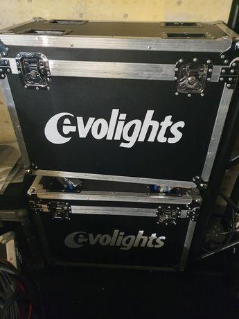 4 szt evolights iq 80 s + 2 szt case oraz kable