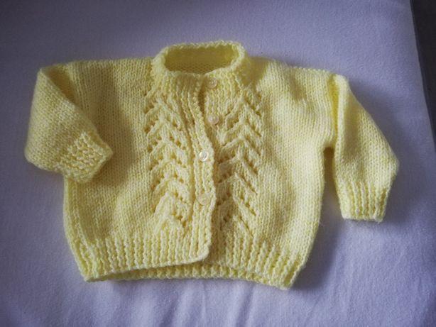 Sweterek żółty rozmiar 56-62