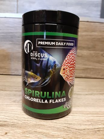 Discus Premium Daily Food SPIRULINA Chlorella Flakes, Chorzów