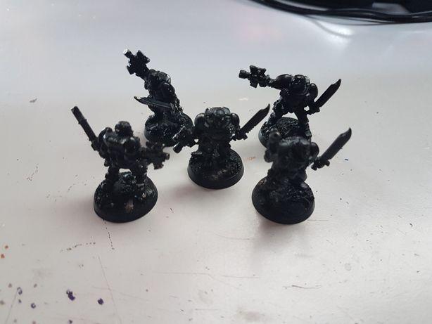 5x Scouts metal SM Dark Angels Warhammer 40k