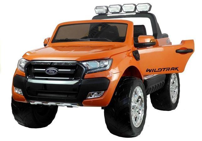 Auto na akumulator FORD RANGER 4x4 dwuosobowy Pomarańczowy