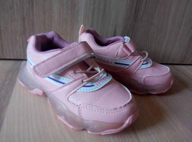 новые светящиеся кроссовки кроссовочки 15 см