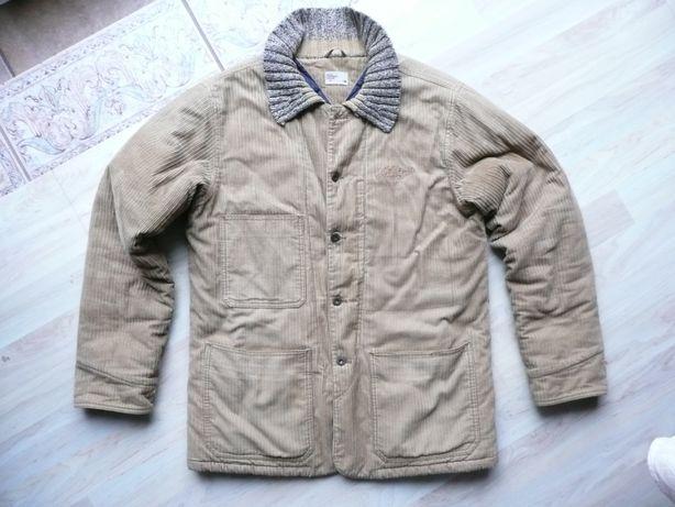 sztruksowa ciepła kurtka TOMMY HILFIGER rozm L z USA
