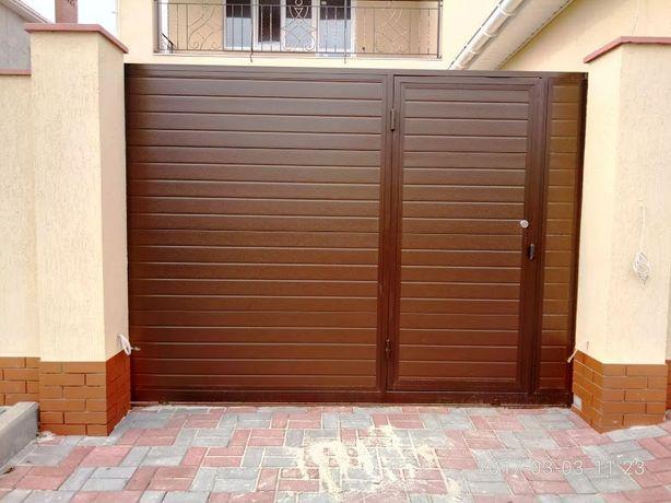 Ворота секционные ,роллетные,кованые с автоматикой,калитки,заборы и Т