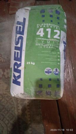 Продам смесь самовыравнювающююся KREISEL 412