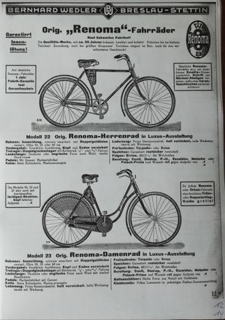 Katalog firmy Bernhard Wedler,Breslau-Stettin