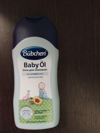 Бюбхен дитяча олійка Bubchen Baby Oil 200 ml детское масло