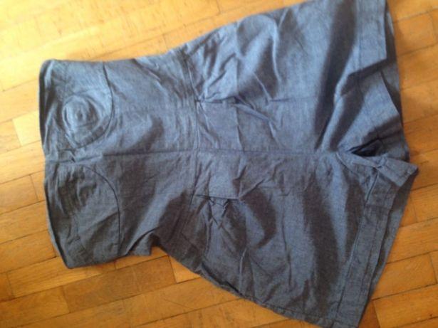 Kombinezon Ala jeansowy gorset taliowany