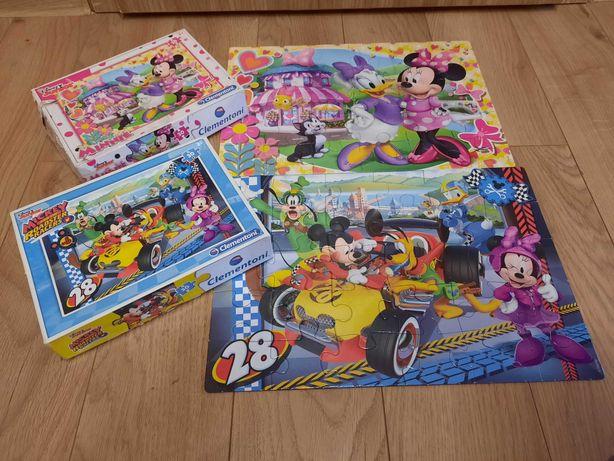 2x Puzzle Mickey