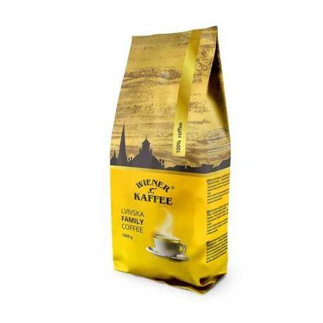 Кофе в зернах Віденська кава Family 1кг