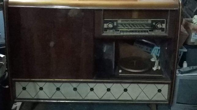 Móvel rádio e gira-discos blaupunkt arkansas 58
