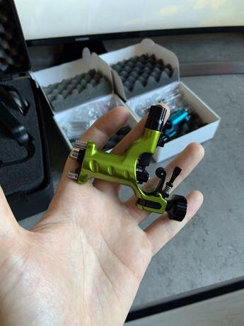 Тату машинка Stingray X2 Slime Green Ink Machines ОРИГИНАЛ