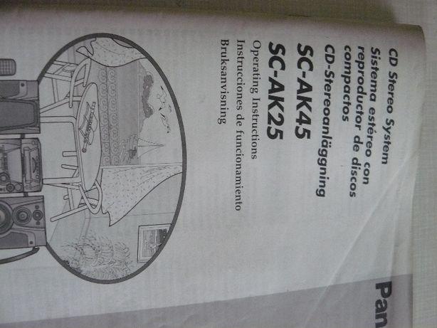 Instrukcja obsługi Panasonic