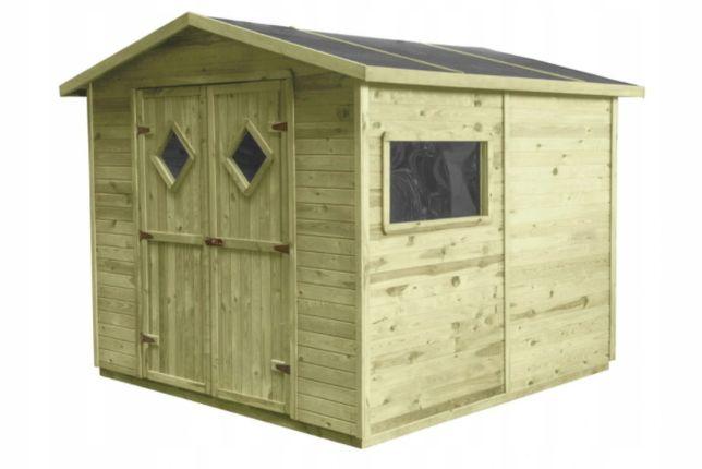 Domek narzędziowy, szopa, domek drewniany