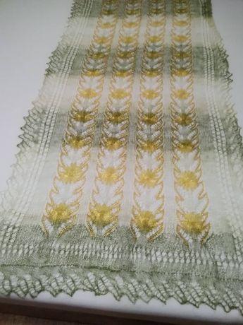 Оренбургский платок шарф шерстяной