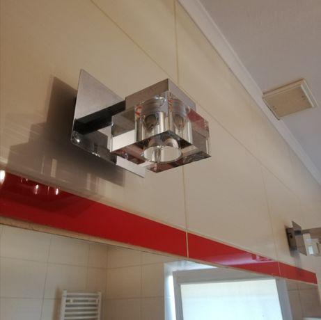 Lampy łazienkowe lub na korytarz 2+1+1