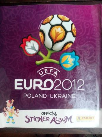 Caderneta Euro 2012 Completa