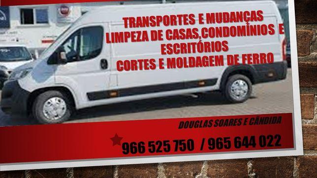 Serviço expresso: Transporte e mudanças em Montijo a partir de €15,00