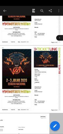 2 Bilhete VOA festival - 1 dia
