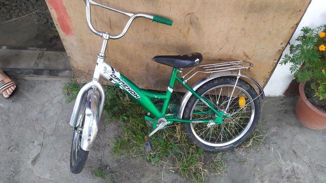 Дитячий велосипед на 19 колесах