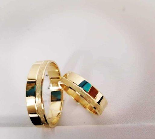 Obrączki ślubne złote próba 585